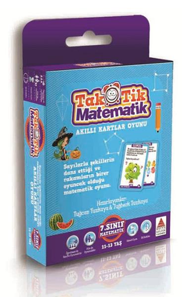 7. Sınıf Taktik Matematik Akıllı Kartlar Oyunu kitabı