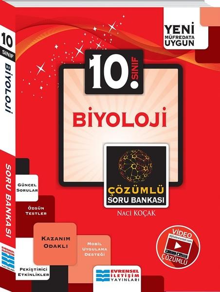 10. Sınıf Biyoloji Video Çözümlü Soru Bankası kitabı
