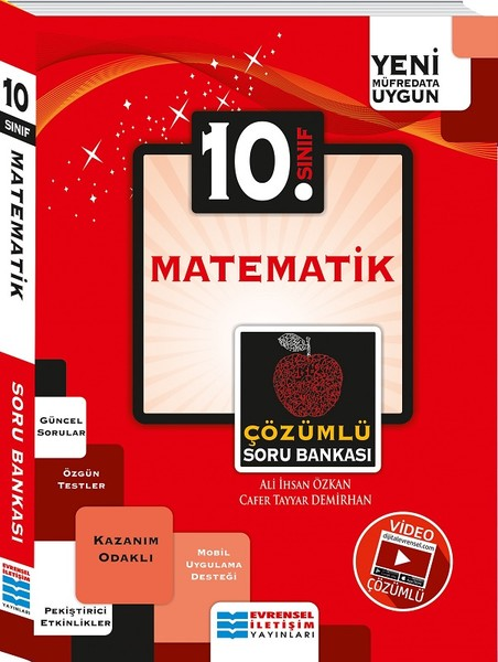10. Sınıf Matematik Video Çözümlü Soru Bankası kitabı