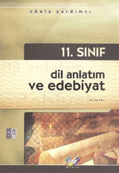 11. Sınıf Dil Anlatım Ve Edebiyat kitabı