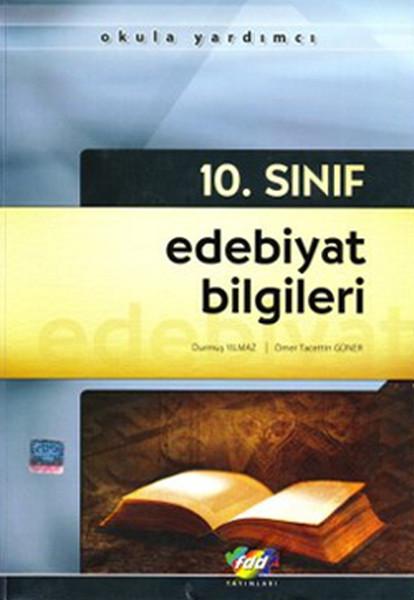 10. Sınıf Edebiyat Bilgileri K. A.  kitabı