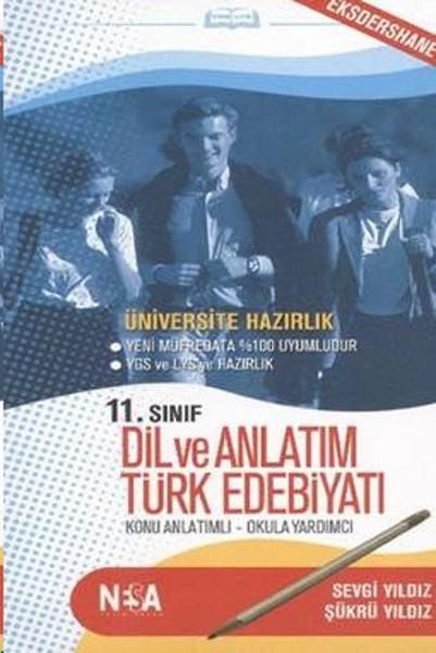 11. Sınıf Dil Ve Anlatım Türk Edebiyatı kitabı