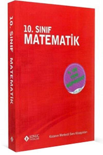 10. Sınıf Matematik kitabı