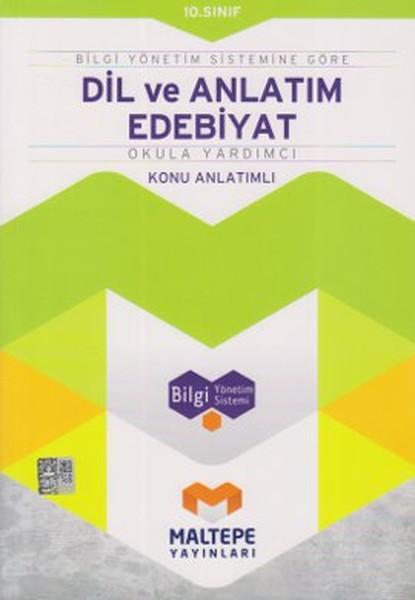 10. Sınıf Dil Ve Anlatım Edebiyat Okula Yardımcı - Konu Anlatımlı kitabı