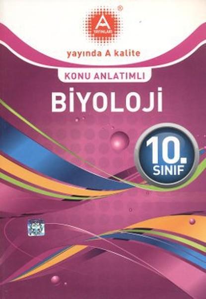 10. Sınıf Biyoloji Konu Anlatımlı kitabı