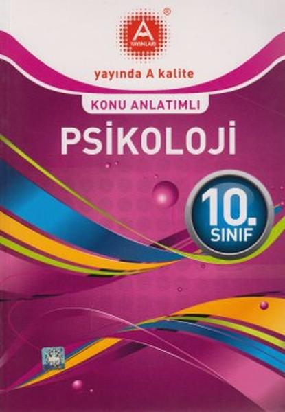 10. Sınıf Psikoloji Konu Anlatımlı kitabı