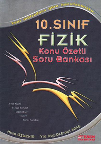 10. Sınıf Fizik Konu Özetli Soru Bankası kitabı