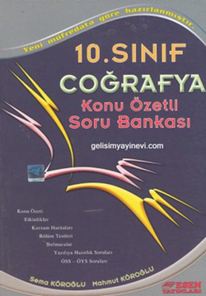 10. Sınıf Coğrafya Konu Özetli Soru Bankası kitabı