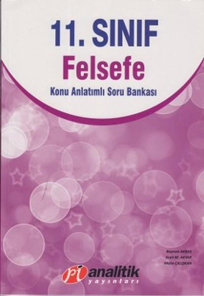 11. Sınıf Felsefe Konu Anlatımlı Soru Bankası kitabı
