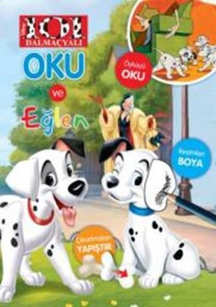 Disney 101 Dalmaçyalı Oku ve Eğlen kitabı